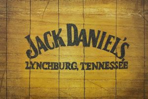 text brand alcohol whiskey jack daniel's tennessee wood usa wooden surface