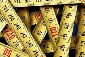 texture numbers measuring tape closeup