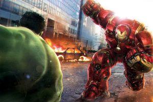the avengers avengers: age of ultron battle marvel comics comics hulk concept art iron man superhero