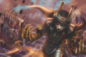 the legend of zelda: twilight princess the legend of zelda watermarked fantasy art