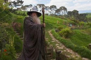 the lord of the rings the shire wizard ian mckellen gandalf