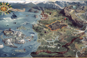 the witcher 3: wild hunt the witcher map