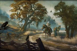 the witcher artwork the witcher 3: wild hunt video games