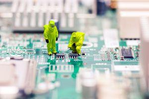 tilt shift motherboards pcb computer