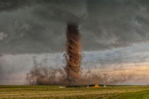 tornado storm landscape field