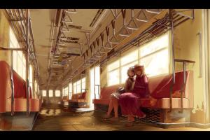 touhou usami renko train