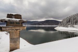 tower snow lake macedonia