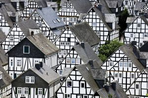 town architecture house germany