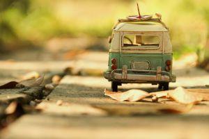 toys minimalism leaves macro car