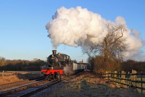 train railway smoke nature steam locomotive