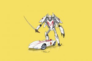 transformers car minimalism