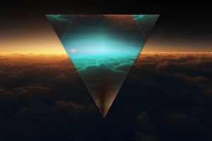 triangle abstract polyscape