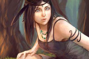 tribe blue eyes women