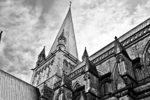 trondheim norway church cathedral