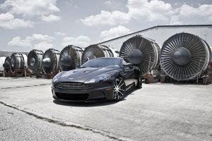 turbines motors aston martin car