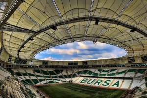 turkey arena building green bursaspor white bursa