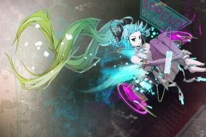 twintails hatsune miku anime anime girls vocaloid
