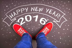typography new year sneakers