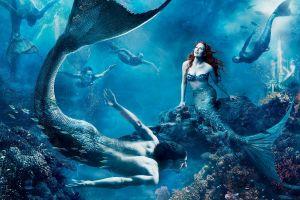 underwater fantasy art fantasy girl mermaids