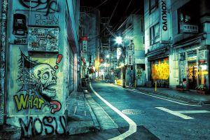 urban hdr street