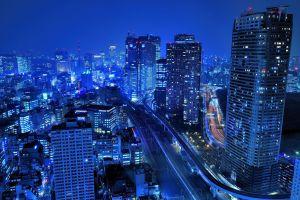 urban photography cityscape blue
