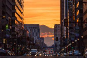 urban street cityscape