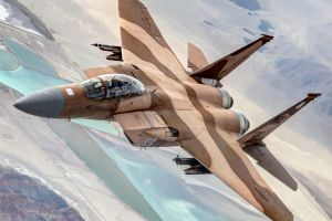 us air force jet fighter mcdonnell douglas f-15 eagle aviator camouflage