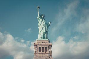 usa new york city statue of liberty statue