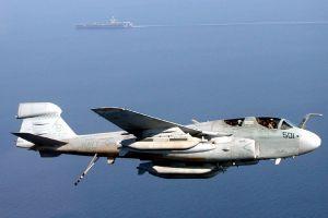 usn vaq-137 501 rooks jet fighter northrop grumman ea-6b prowler united states navy military