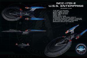 uss enterprise (spaceship) science fiction numbers star trek infographics
