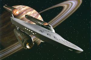 uss enterprise (spaceship) space star trek: tos space star trek