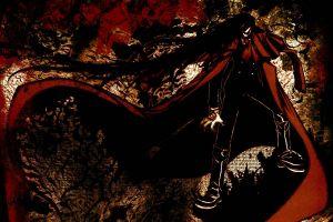 vampires alucard hellsing anime