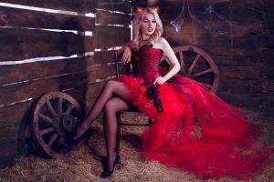 vampires women model blonde