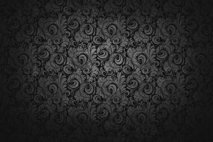 vector art pattern dark floral