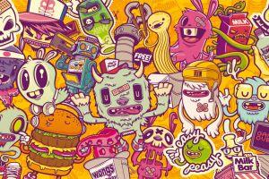 vector digital art artwork