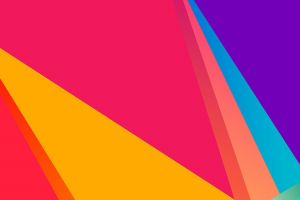 vector simple minimalism colorful