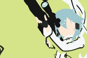 vector sword art online asada shino