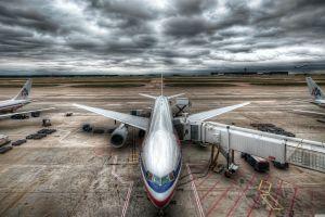 vehicle aircraft airport