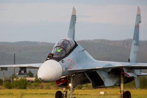 vehicle aircraft military aircraft sukhoi su-30 military