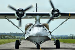 vehicle airplane star engine aircraft consolidated pby catalina
