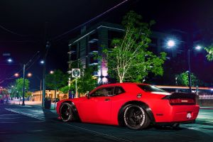 vehicle car city night red cars urban