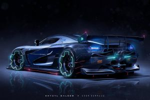 vehicle car khyzyl saleem digital art koessinger agera r