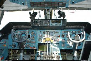 vehicle cockpit aircraft antonov an-225 mriya