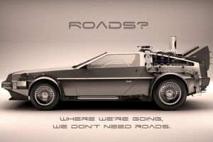 vehicle movies time machine car delorean 1985 (year) back to the future