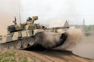 vehicle tank t-90 military