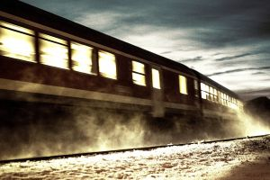 vehicle train railway