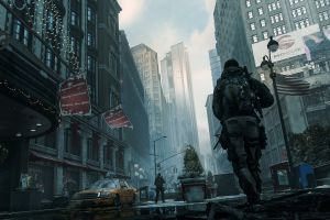 video game art apocalyptic pc gaming tom clancy's the division screen shot
