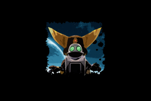 video game art video games ratchet & clank