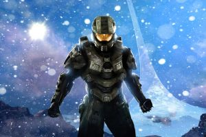 video game art video games video game heroes halo master chief