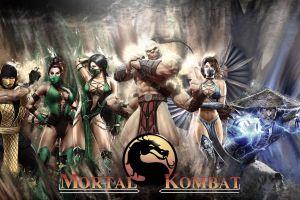 video game warriors mortal kombat video game art video games